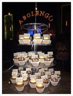 Mini Cupcakes de Nutella con Oblea personalizada