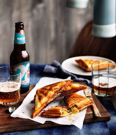 Kimchi and cheese jaffles recipe by Michael Ryan from Provenance restaurant in Beechworth, Vic.