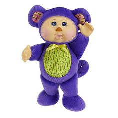 Cabbage Patch Kids Cuties Doll - Purple Monkey *** Find out more about the great product at the image link. (This is an affiliate link) Ty Toys, Toys R Us, Cabbage Patch Kids Dolls, Babies R Us, Porch Decorating, Smurfs, Monkey, Purple, Fun