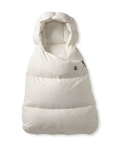 Moncler Kid\'s Baby Sleeping Pram Bag (Cream)