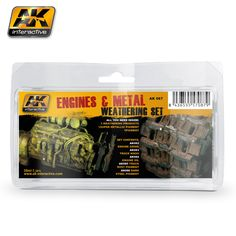 Engines and Metal Weathering Set | AK Interactive