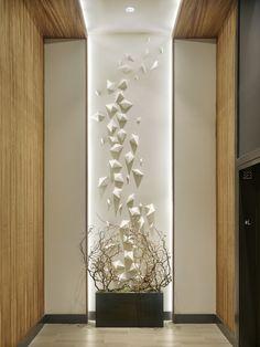 The Harper – DAS Architects Hallway Designs, Foyer Design, Home Room Design, Staircase Design, Ceiling Design, Wall Design, Lobby Design, Interior Walls, Interior Design