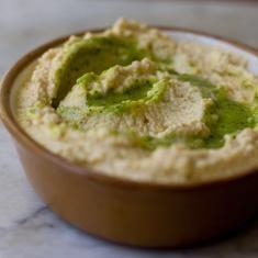 Garlic And Jalapeño Hummus Recipe