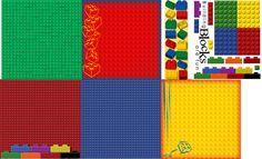 amusement park scrapbook layouts | Lego Legoland Scrapbooking Supplies Amusement Park Lego Scrapbooking ...