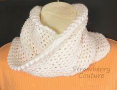 OMBRETTA & LAUREN Crochet Pattern Crochet Scarf Pattern Crochet Cowl Pattern Crochet Cowl Scarf Pattern Mobius Infinity Scarf Pattern EASY 5.00 USD by #strawberrycouture on #Etsy - MUST SEE!