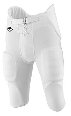 Stromgren Adult 2-Pad Integrated White Football Pants