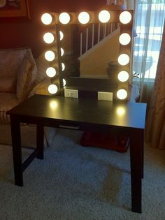 gallery for homemade makeup vanity
