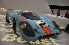 Porsche 917 in Gulf Colour