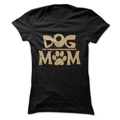 Dog moms often have the softest and bravest hearts. Show people how proud you are with this shirt!
