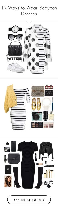 """19 Ways to Wear Bodycon Dresses"" by polyvore-editorial ❤ liked on Polyvore featuring waystowear, Bodycondresses, Dolce&Gabbana, Superdry, Steve Madden, Yves Saint Laurent, Alexander McQueen, Gucci, NARS Cosmetics and Acne Studios"