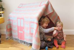 Create a Blanket Fort with Donna Wilson's House Throw Play Den Set