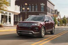 The photo is Couresty of Ford Media. The all-new 2019 Ford Explorer can be found at Planet Ford in Spring, Texas. New Ford Explorer, Garland Tx, New And Used Cars, Cars For Sale, Spring Texas, Vehicles, Autos, Cars For Sell, Rolling Stock
