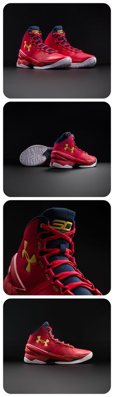 For those who aren't just teammates, but leaders, the Under Armour Curry 2 'Floor General' is for you. #Basketball #Shoes