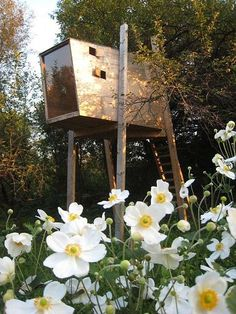 dream, playhouse, for, children - Robert Potokar has created this fantastic playhouse made especially for children. The Robert Porokar playhouse is made from spruce plywood and i...