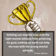 Achieve your goal with a right attitude. #DaphneClarkeHudson #coach #positivemind #positivethoughts #motivationalspeaker #Entrepreneurs