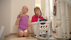 AbanCommercials: Capri Sun TV Commercial  • Capri Sun advertsiment  • Stairmasters • Capri Sun Stairmasters TV commercial • Hey, Mom! This brother and sister use a laundry basket and the stairs to pursue their dream of becoming downhill daredevils. Or is it just for Capri Sun?