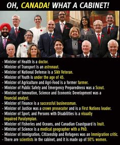 Oh, canada : Meanwhile in America they decided women's healthcare without any women on the board, only old white men. The More You Know, Good To Know, Canada Funny, Canada Memes, Canada 150, Cultura General, Faith In Humanity Restored, Equality, Poster