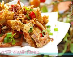Deep Fried Soft Shell Crab by Lydia's Corner, via Flickr