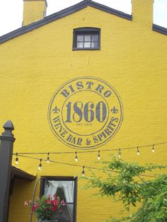 Bistro 1860 mural in Louisville, KY by ArtFX Design Studios
