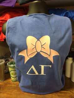 Delta Gamma Shirt on Comfort Colors by TheShirtPlace on Etsy
