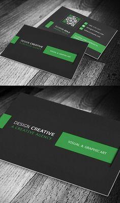 Corporate Business Card  #businesscards #corporatedesign #businesscarddesign #psdtemplates