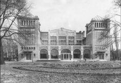 Concert gebouw de Vereeniging net na de opening in 1915.