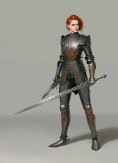 Cool and (mostly) practical armoured women - Imgur