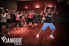 E' il nuovo modo di fare fitness ballando a tempo di musica, su vari stili musicali tra i quali reggaeton, cubaton, hip hop e dembow e non mancano anche pezzi storici e le hit del momento!!! JANGOO è UNICO al mondo, costituito da un team di professionisti uniti per trasportarti in un atmosfera che non ha eguali. Il nostro obiettivo è aggregare gente e condividere la stessa passione per la musica e il ballo!!!
