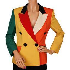 31dcbc3270ce POPPYSVINTAGE.COM Vintage Moschino Jacket Haute Couture Fashion