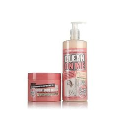 This divinely fragranced shower gel and body butter from SOAP & GLORY leave your skin feeling soft, smooth and sexy.