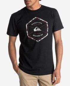 a23182c9b95156 QUIKSILVER QUICKSILVER MEN S OCTA LOGO T-SHIRT.  quiksilver  cloth   Surf  Wear