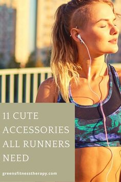 All runners need a few accessories to help them as they run. Here are 11 cute running ideas you can use for yourself or for a gift.