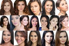 Miss Philippines Earth 2016 Meet the Finalists