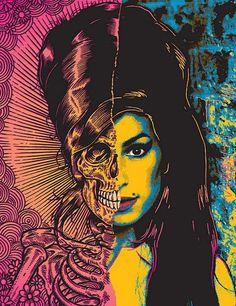 """Die Serie von Berühmtheiten die früh gestorben sind. """"Die Young: Amy Winehouse"""" von Ben Brown"""