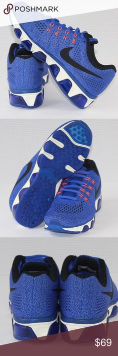 nike air max blue size 8