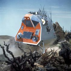 Space Pod from the 1960s Irwin Allen series Lost in Space