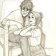 James and Lilly :D looks more like Harry and Ginny...