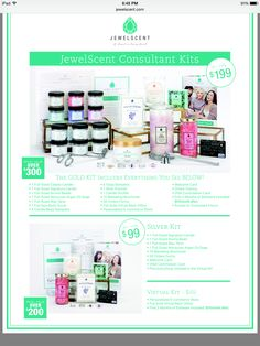 Interested in becoming a consultant?  We have 3 different packages to choose from. The 20% discount is only part of the benefits of selling JewelScent! No monthly or yearly fees and no quotas either!!
