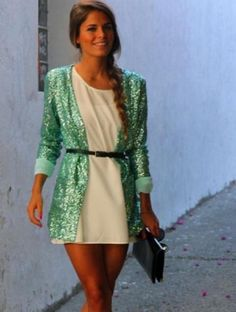 sequined cardigan. i need this. NEED