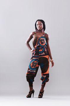 Jassen - Jumpsuit (Serwaa) - Een uniek product van Malaika-Designs op DaWanda