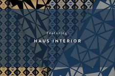 Guildery | Metric Collection designed by @hausinterior #fabric #pillows #wallpaper #homedecor #interiordesign www.guildery.com