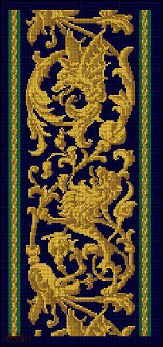 Gallery.ru / Фото #73 - Моё увлечение - Suliko Cross Stitch Rose, Cross Stitch Borders, Cross Stitch Charts, Cross Stitch Designs, Cross Stitch Patterns, Rose Embroidery, Cross Stitch Embroidery, Cross Stitch Pictures, Celtic Designs