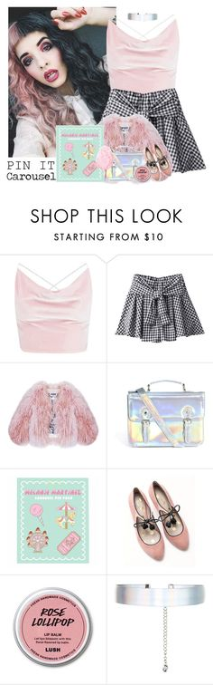 """""""503->""""Carousel"""" by Melanie Martinez"""" by dimibra ❤ liked on Polyvore featuring Boohoo, Florence Bridge, ASOS, Boden and Accessorize"""