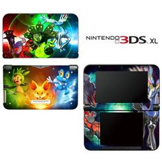 Pokemon X Y Special Edition Decorative Video Game Decal Cover Skin Protector For Nintendo 3Ds Xl, 2015 Amazon Top Rated Faceplates, Protectors & Skins #VideoGames