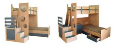 Look at these nicely designed *safe* bunk beds.