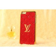 Luxury Louis Vuitton iPhone 6 / 6 Plus Cases - Womens Fashion - Red
