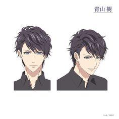 Itsuki Aoyama from anime Stand my Heroes Manga Boy, Anime Manga, Anime Guys, Anime Art, Style Tim Burton, Anime Boy Sketch, Upcoming Anime, Character Design Cartoon, Popular Anime