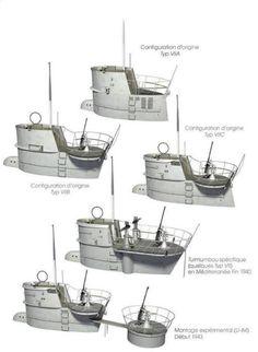 Torres de los Uboat VII.