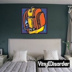 Sports Accessories Wall Decal - Vinyl Sticker - Car Sticker - Die Cut Sticker - DC 017