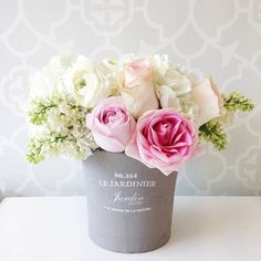 Pretty in Pink // Custom floral arrangement from Fleurish Floral Wedding, Wedding Flowers, Wedding Bouquets, Yellow Bouquets, Shabby, Weekend Activities, Easy Home Decor, Flower Arrangements, Table Arrangements